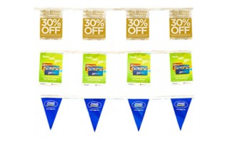 Poly Plus Eco Polyethylene Banner - 92800850G