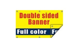 White Super Smooth Blockout Banner - 9711236