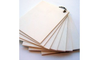 Matte/Matte Corona Treated Styrene Sheet - 9920206080DW