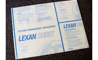 High Optics Lexan Sheet - 61006248969034HO