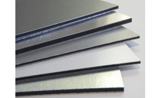 Aluminum Clad Panel - 7563MM4896BKWH